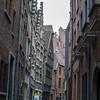 Belgium Day 4 / Antwerp<br /> Oldest house in...Antwerp(?) Brown wood on the left