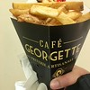 Belgium Day 3 / Chocolate & Beer Tour<br /> Cafe Georgette Frites