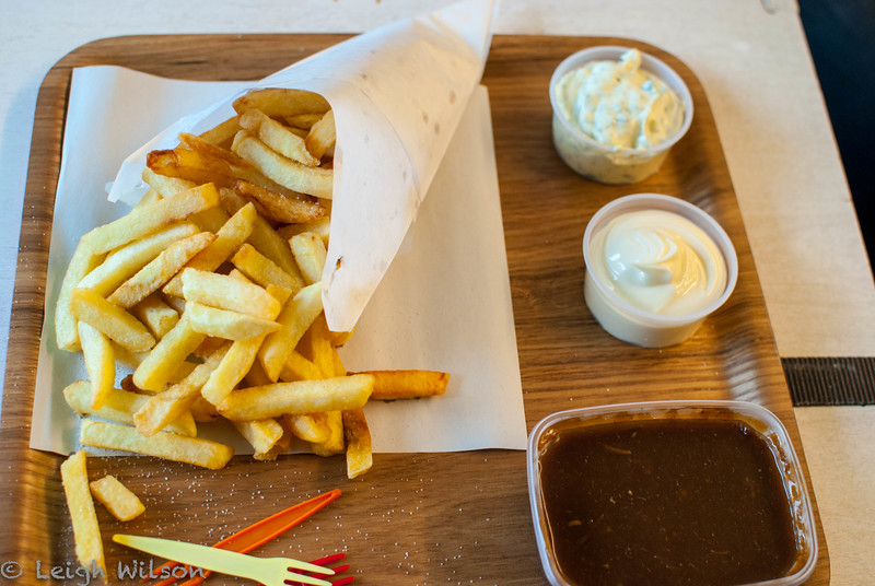 Belgium Day 4 / Antwerp<br /> Chips Frites