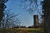 View of the Our Lady church (13th century) of Damme from one of the hiking paths - West Flanders - Belgium <br /> <br /> Vista global de la iglesia Nuestra Señora (siglo XIII) en el pueblito de Damme desde uno de los senderos - Flandes Occidental - Bélgica<br /> <br /> Überblick über die Unsere liebe Frau Kirche (XIII Hh.) aus einem der Wanderwege - Westflandern - Belgien<br /> <br /> Vue de l'église de Notre Dame (XIII siècle) de Damme d'un des sentiers de promenade - Flandre Occidentale - Belgique<br /> <br /> Zicht over de Onze-Lieve-Vrouw kerk (XIII eeuw) in het dorpje Damme vanaf één van de vele wandelpaden - West-Vlaanderen - België