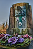 Detail of a tomb on the old cemetery - Damme - West Flanders - Belgium <br /> <br /> Detalle de una de la tombas en el viejo cementerio - Damme - Flandes Occidental - Bélgica<br /> <br /> Detail von einem der Gräber - Dame - Westflandern - Belgien<br /> <br /> Détail d'une des tombes du vieux cimetière - Damme - Flandre Occidentale - Belgique<br /> <br /> Detail van één van de oude graven - Damme - West-Vlaanderen - België