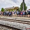 KSA Menen - Vertrek op Kamp naar Opoeteren - Station - Menen - West-Vlaanderen