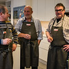 Ontvangst van Geluwenaars met glaasje cava - Revelatio Kookstudio - Elverdingestraat 55 - Ieper - West-Vlaanderen