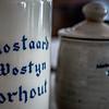 Oude mosterdpotten - Mostaard Wostyn - Torhout - West-Vlaanderen<br /> <br /> Old mustard pots - Mostaard Wostyn - Torhout - West-Flanders - Belgium <br /> <br /> Antiguos tarros de mostaza - Mostaard Wostyn - Torhout - Flandes - Bélgica <br /> <br /> Ancien pots de moutarde - Moutarde Wostyn - Torhout - Flandre Occidentale - Belgique