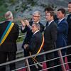 De prominenten van de Belgische regeringen zijn aangekomen