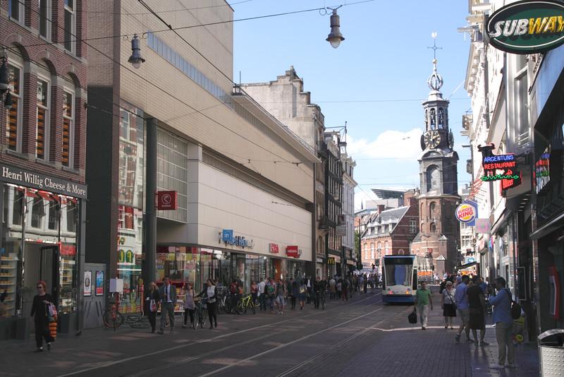 Reguliersbreestr street near Rembrandt Square Amsterdam