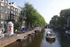 Herengracht Canal view from Reguliersgracht Amsterdam