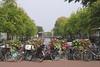 Herengracht Canal view from Utrechtsestraat  Amsterdam