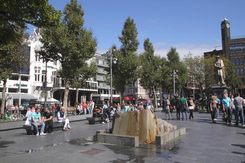 Rembrandt Square Amsterdam Holland