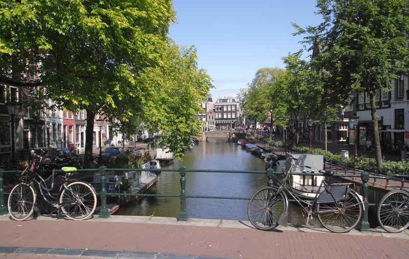 Spiegelgracht canal Amsterdam Holland