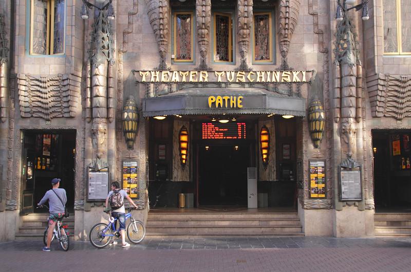 Theater Tuschinski Pathe Reguliersbreestr Amsterdam Holland
