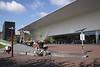 """""""Bathtub"""" modern addition to Stedelijk Museum Amsterdam Holland"""