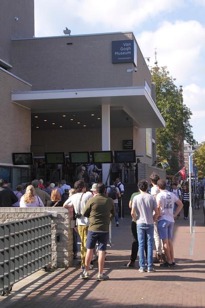 Van Gogh museum Amsterdam Holland