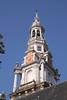 Zuiderkerk church spire Old Side District Amsterdam