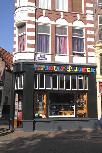Jolly Joker Coffeeshop Nieuwmarkt Amsterdam Holland