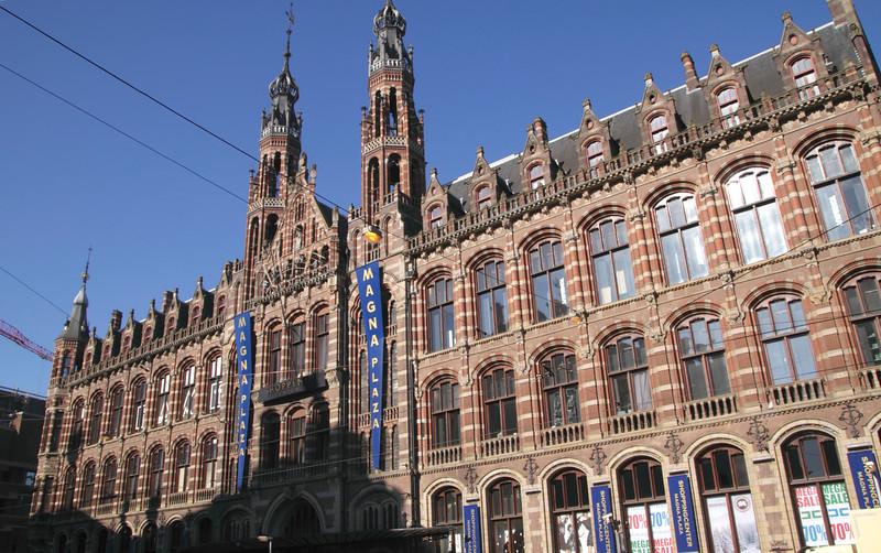 Magna Plaza shopping centre Amsterdam Holland