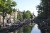 Oudezijds Voorburgwal Canal Amsterdam Holland