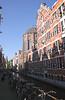Oudezijds Kolk Canal Amsterdam Holland