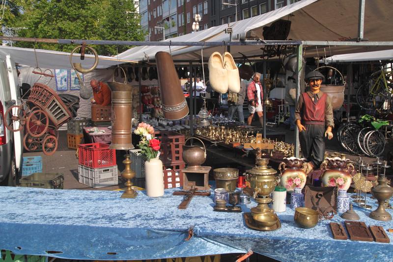 Bric a brac Market Waterlooplein Amsterdam Holland