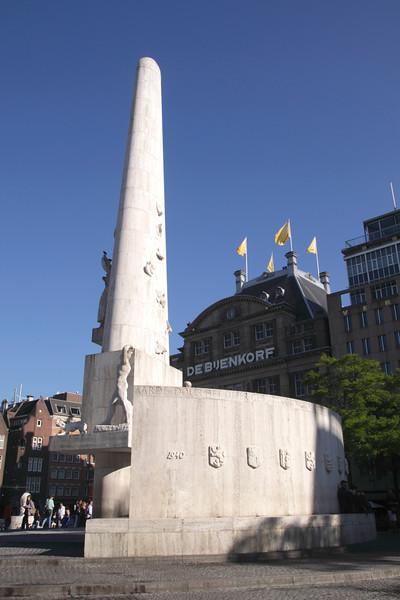 Nationaal Monument Dam Square Amsterdam