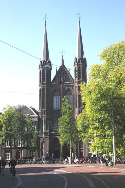 De Krijtberg church Amsterdam Holland