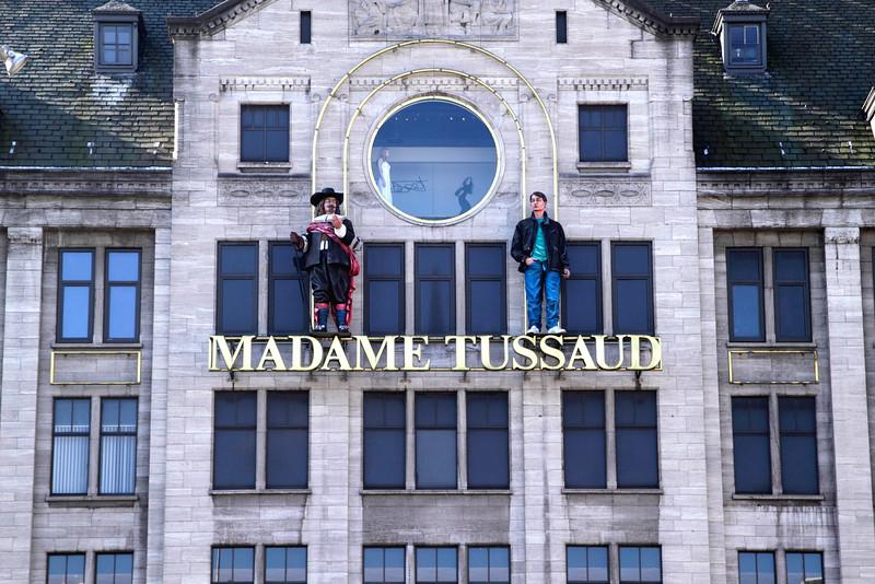 Madam Tussaud wax museum Dam Square Amsterdam