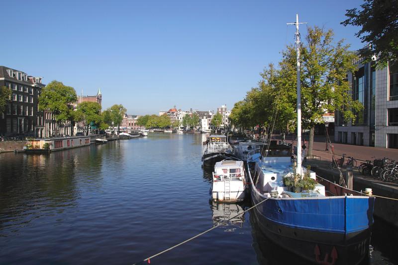 River Amstel Amsterdam Holland