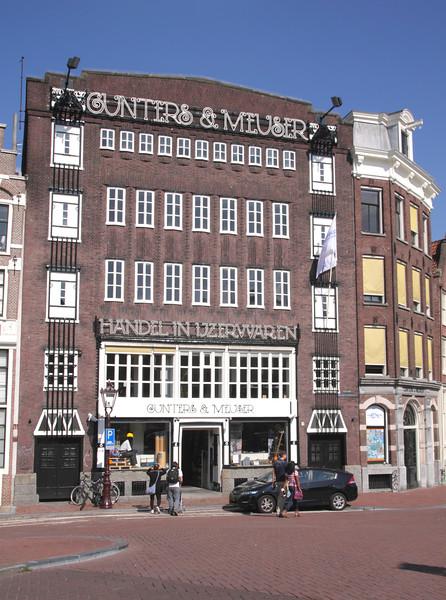 Gunters and Meuser hardware store Egelantiersgracht Amsterdam