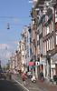 View along Haarlemmerdijk Amsterdam Holland