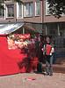 Street Market Haarlemmerplein Amsterdam Holland