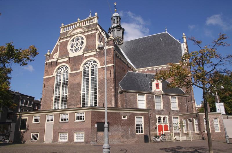 Noorderkerk North Church  Noordermarkt Square Amsterdam