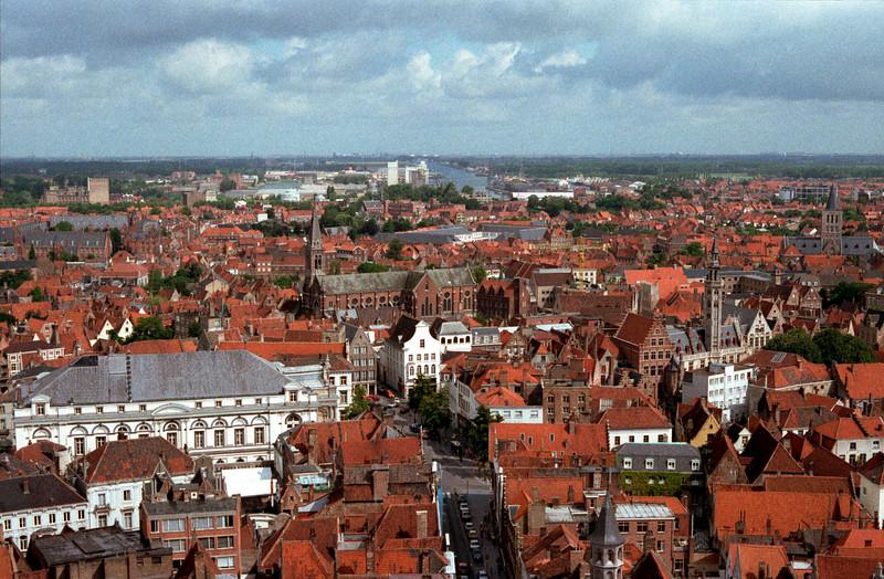 Bruges skyline