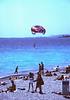 Paraglider at Beachfront Nice