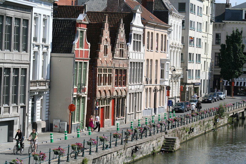 Our hotel in Ghent