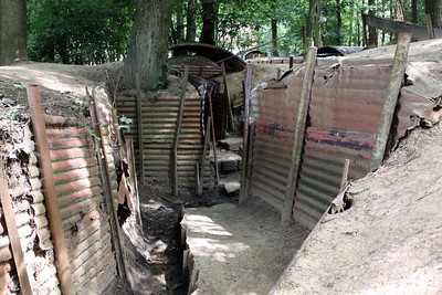 Sanctuary Wood Museum (Hill 62) - Preserved British trenches from World War 1.