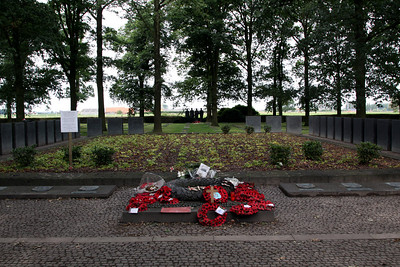 Langemarck German Cemetery.  This is the only German cemetery within the Ypres Salient.
