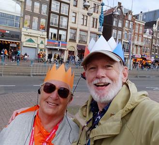 Amsterdam. Canals & Coronation Festivities