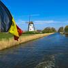 Canal at Damme, Belgium