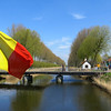 canal and bridge at Damme
