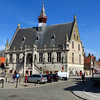 Town Hall.  Built in 1464-68 by Gottfried de Bosschere, it is an excellent example of late Gothic architecture.