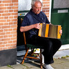 Playing his squeeze box. Enkhuizen