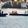 King Willem and Queen Maxima pass in review not too far from our ship