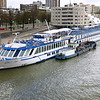 """Our ship, """"River Aria"""" in Rotterdam"""