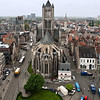 Central Ghent, from belfry tower.