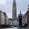 Antwerp cathedral tower.