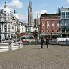 April 27 -- Antwerp, as seen from river terrace.