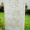 Tombstone for Australian Jewish soldier.