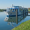 April 29, docked at Veere, Netherlands.