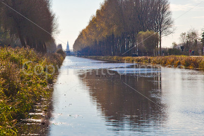 Canal leading to Bruges
