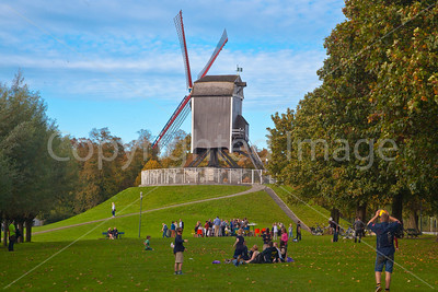 Park in Bruges